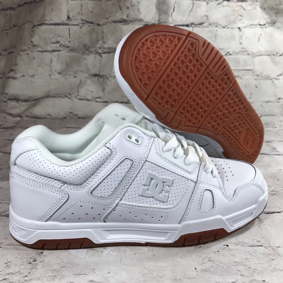 e7ada65f4ff22 DC Other - DC Shoes Stag White Gum Soles Sz 12 skate shoes